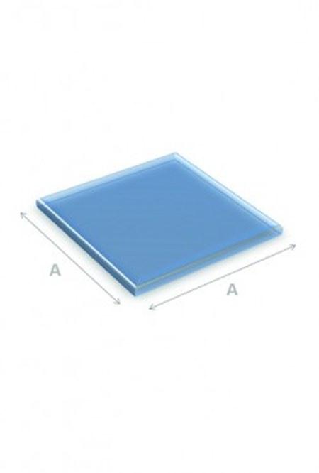 Vloerplaat glas vierkant 80x80