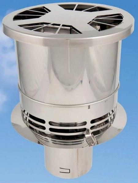 BlueChimney rookgas ventilator
